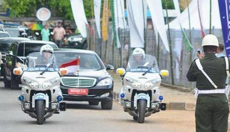 1776 Personil Polri Amankan Kedatangan Presiden Jokowi di Sultra