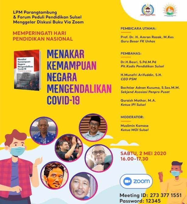 Prof. Amran ,Quraish, Appi, BAK dan Guru Besar Bedah Covid di Hardiknas
