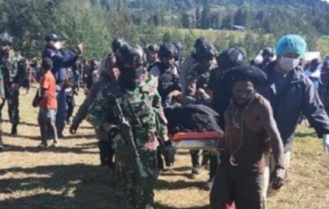 2 Anggota TNI Gugur Setelah Dianiaya Puluhan OTK di Papua