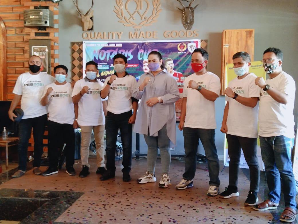 64 Peserta Berebut Juara  E-Sport Notaris Cup di Odixy Lounge and Cafe Kendari