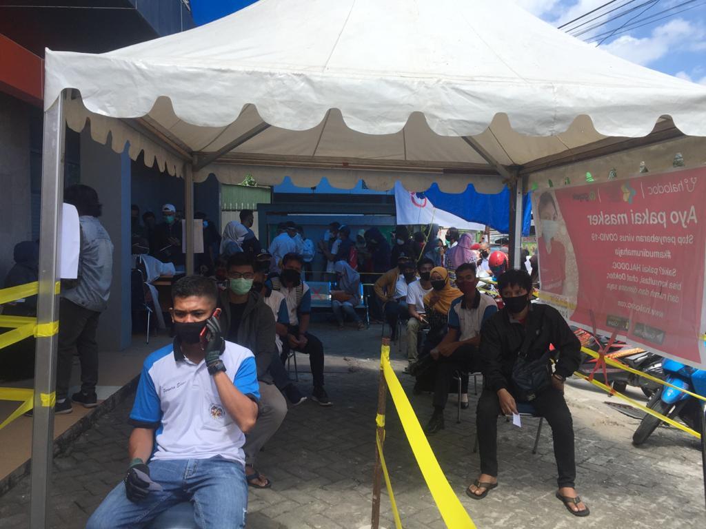 Kolaborasi dengan Halodoc, RSU Fajar Medika Nusantara Adakan Rapid Test Gratis