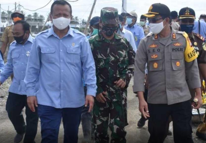 90 Personil Polres Pasangkayu Amankan Kedatangan Edhy Prabowo di 18 Titik