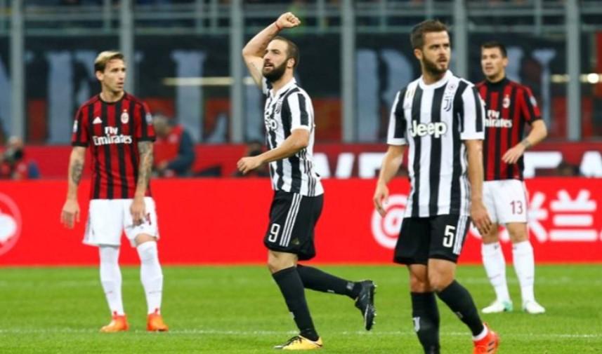 AC Milan Tinggalkan Juventus