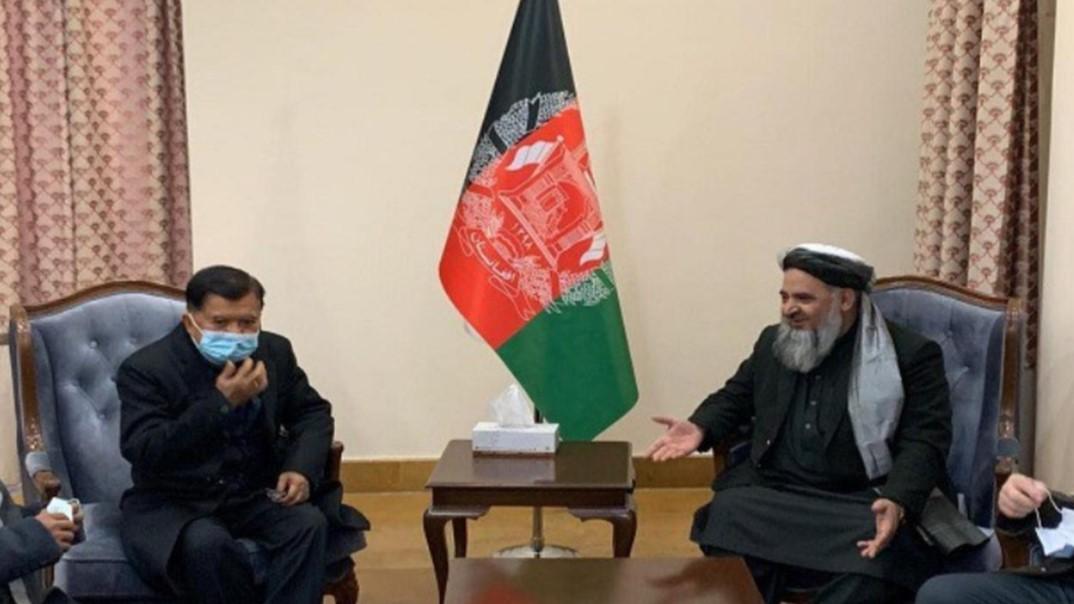 Akhiri Konflik Afghanistan-Taliban, JK Bersedia Jadi Mediator Perundingan