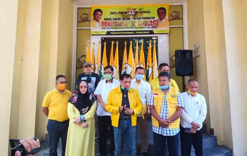 Akibat Covid-19, Musda Golkar Sulsel Dipindahkan di Jakarta