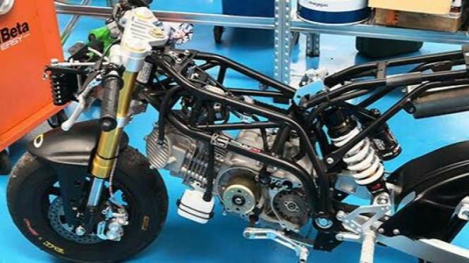 Alrasyid Kembangkan Motor Mini GP untuk Pembalap Indonesia Usia Dini