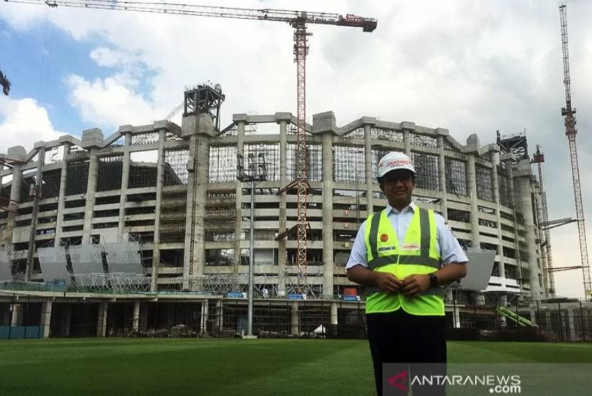 Anies Umumkan Jadwal Pembukaan Jakarta International Stadium