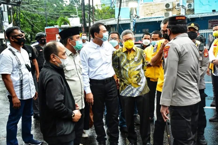 Apresiasi Kinerja Taufan Pawe, Azis Syamsuddin Minta Fokus Besarkan Golkar