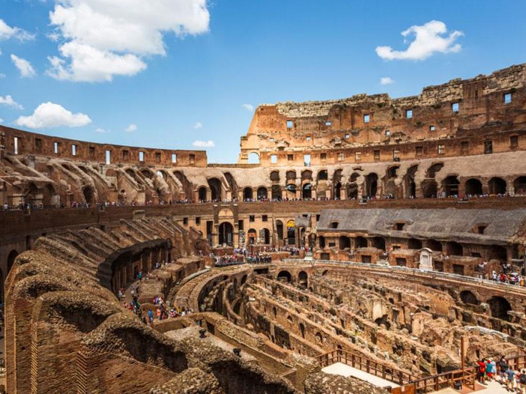 Area Bawah Colosseum Roma Dibuka Pertama Kali Untuk Wisatawan
