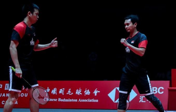 Atasi Pasangan Korea, Hendra/Ahsan Melaju ke Final BWF World Tour Finals