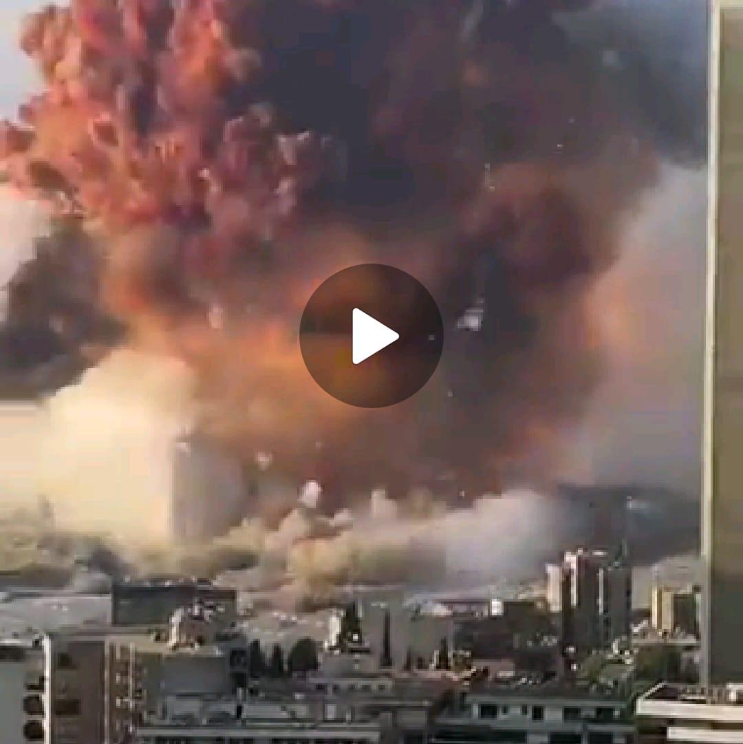 BERITA VIDEO: Detik-detik terjadinya Ledakan Besar di Lebanon, Puluhan Meninggal & Ribuan Terluka