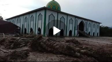BERITA VIDEO: Kondisi di Sekitar Mesjid Radda Pasca Banjir Bandang Masamba