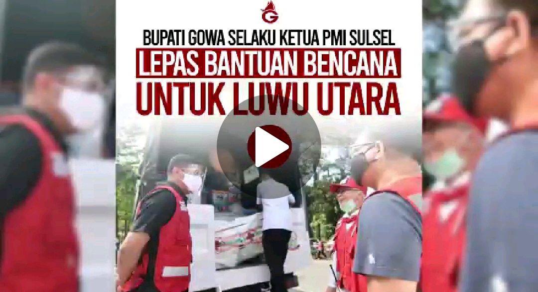 BERITA VIDEO: PMI Sulsel Kirimkan Paket Bantuan Ke Masamba