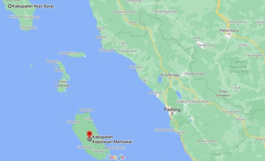 BMKG Catat 9 Kali Gempa Susulan di Nias Barat, Himbau Masyarakat Tetap Waspada