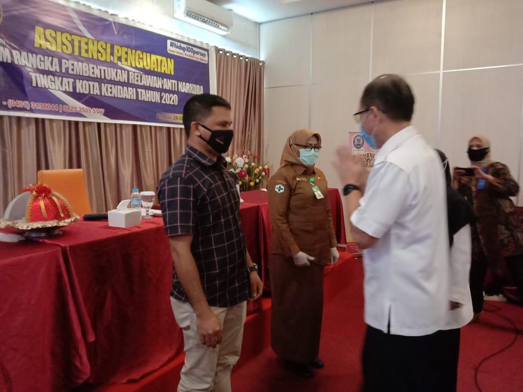 BNNK Kendari Bentuk Relawan Anti Narkoba dari Media Online dan OPD Pemkot