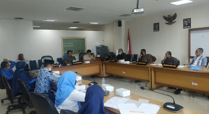 Bahas Ranperda, Syahrir Hamdani Ajak Sejumlah OPD Pemprov Sulbar Duduk Bersama