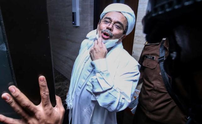 Banding Ditolak, Hukuman Habib Rizieq Tetap 8 Bulan Penjara