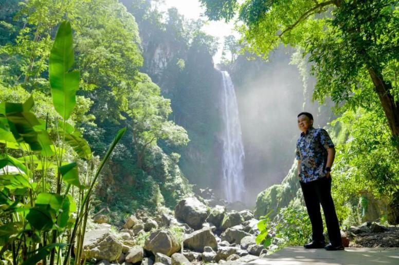 Bangkitkan Pariwisata, Pemkab Bantaeng Akan Poles Kawasan Air Terjun Bisappu
