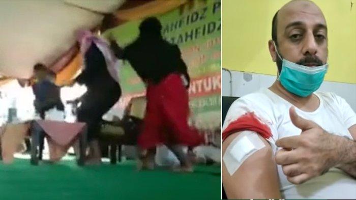 Bantah Pelaku Penusukan Dirinya Disebut Gila, Syekh Ali Jaber : Dia Sangat Berani dan Terlatih