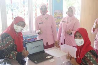 Bantu Pendidikan Anak Saat Pandemi, Pertamina Salurkan 60 Laptop untuk TK Bhayangkari Se-Sulawesi