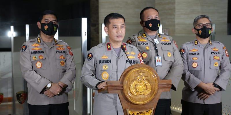 Bareskrim Polri Tetapkan Tiga Anggota Polda Metro Jadi Tersangka Unlawful Killing terhadap 6 Laskar FPI
