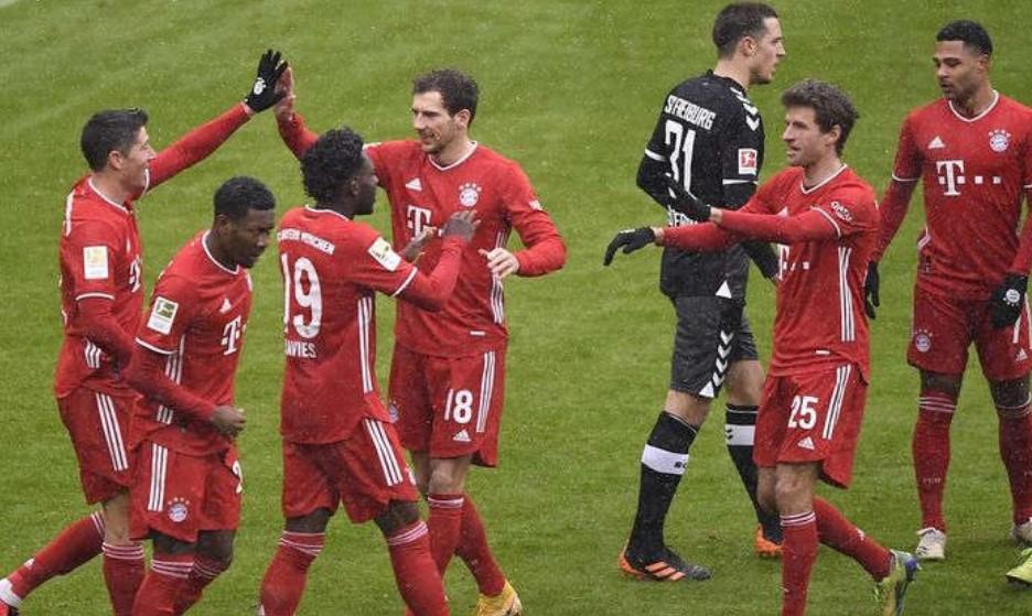 Bayern Muenchen Sang Juara Bundesliga 2020-2021