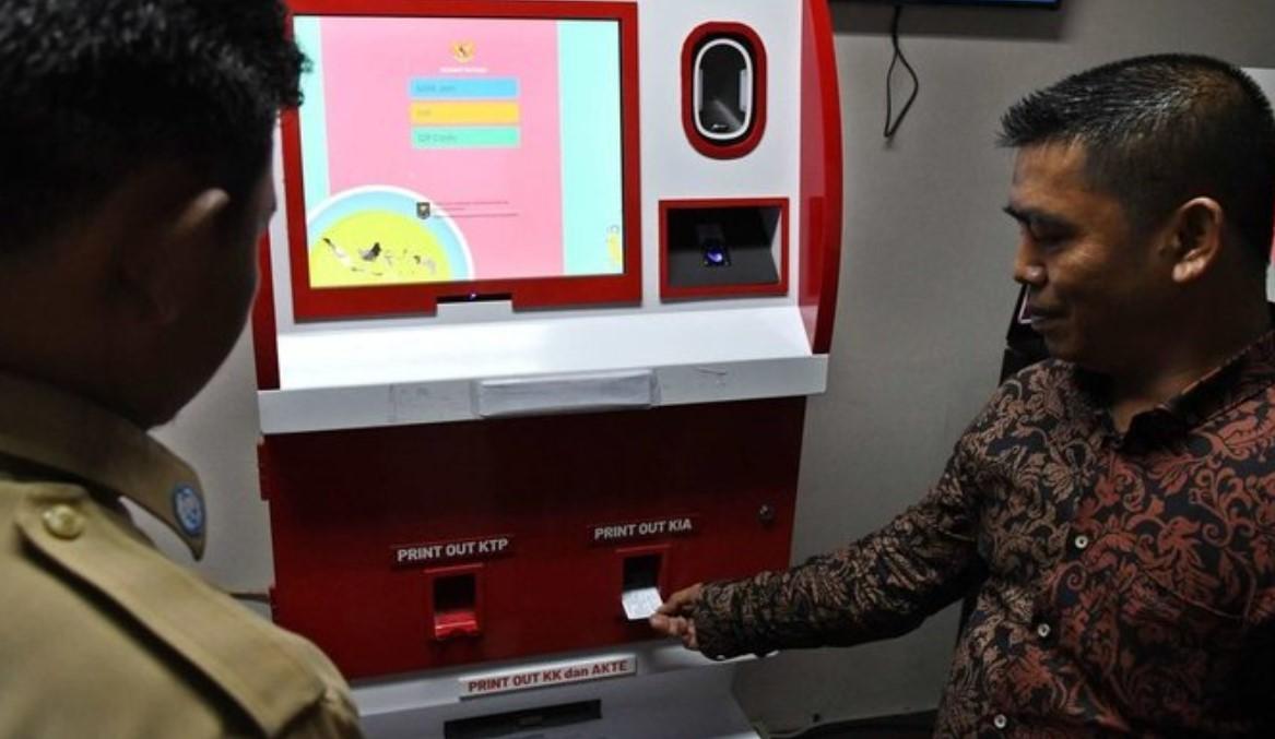 Begini Cara Kerja ADM, Pencetak e-KTP Mandiri Seperti Mesin ATM