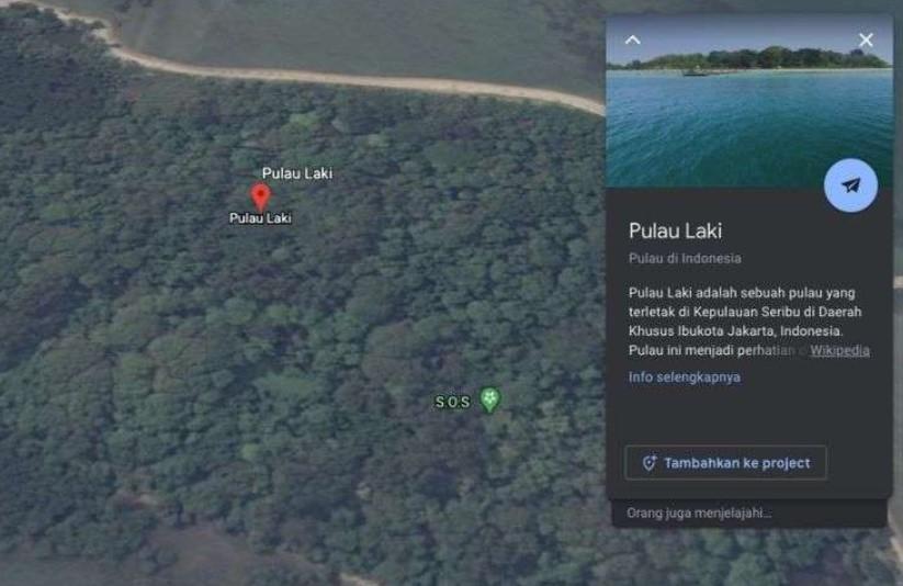 Begini Penjelasan Google Soal Simbol SOS di Pulau Laki yang Dihapus dari Maps