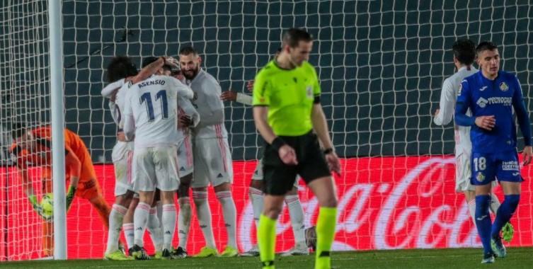 Bermain di Kandang, Real Madrid Susah Payah Tekuk Getafe