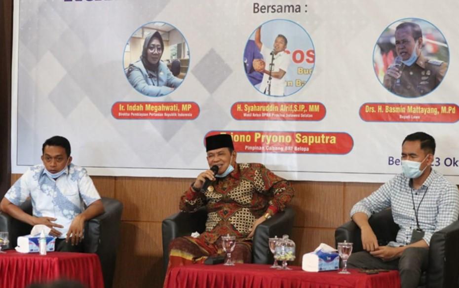 Bertandang ke Luwu, Wakil Ketua DPRD Sulsel Sosialisasi Tanaman Porang