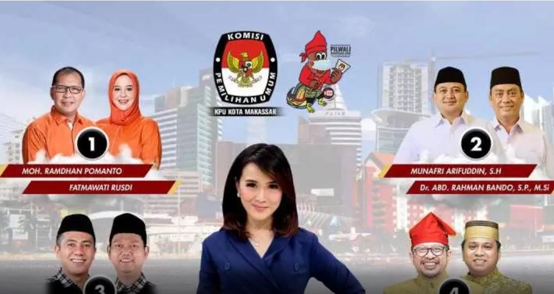 Besok, Debat Publik Ketiga Pilwalkot Makassar, Digelar Pagi Hari