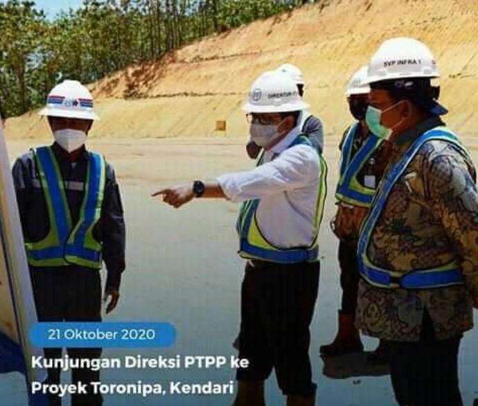 Breaking News : Gema Nusa Desak KPK Telusuri Dugaan Korupsi Mega Proyek Jalan Kendari - Toronipa Senilai 143 M
