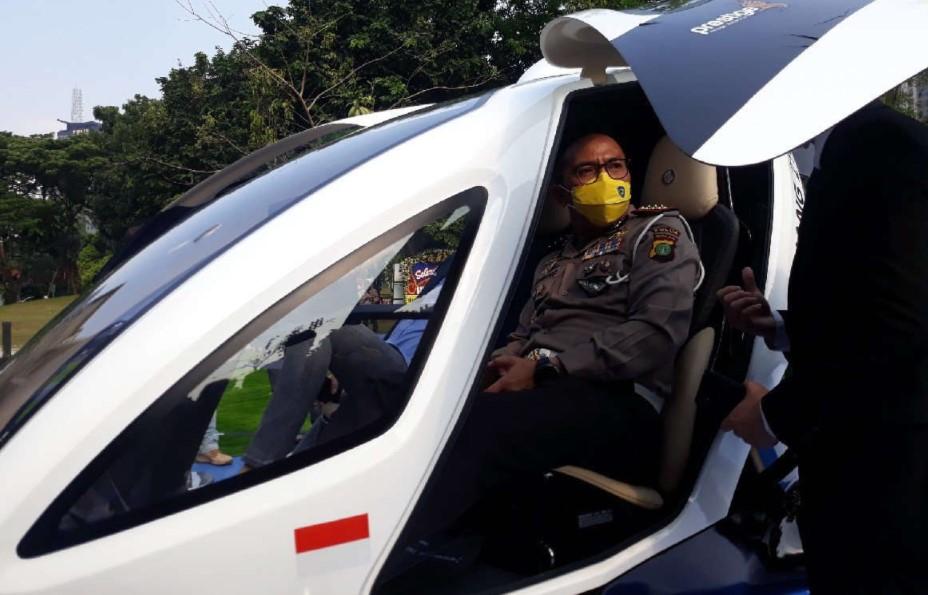 Bulan Depan Taksi Terbang Bakal Diuji Coba, Begini Tanggapan Polisi
