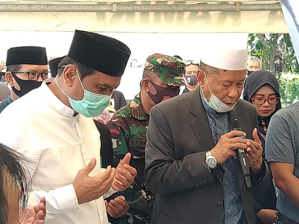 Bupati Barru, Letakkan Batu Pertama Rumah Tahfidz Relawan Akhirat