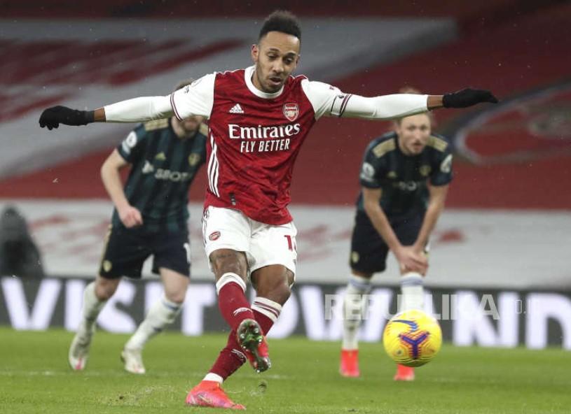 Butuh Dana Segar, Arsenal Segera Lepas Aubameyang