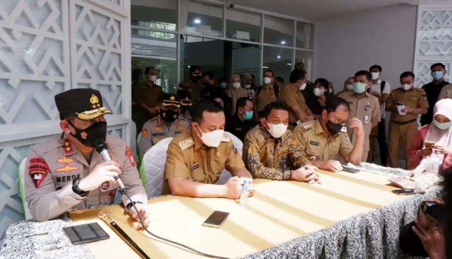 Cek Kesiapan Hadapi Varian Baru Covid-19, Plt Gubernur dan Kapolda Kunjungi RS di Makassar