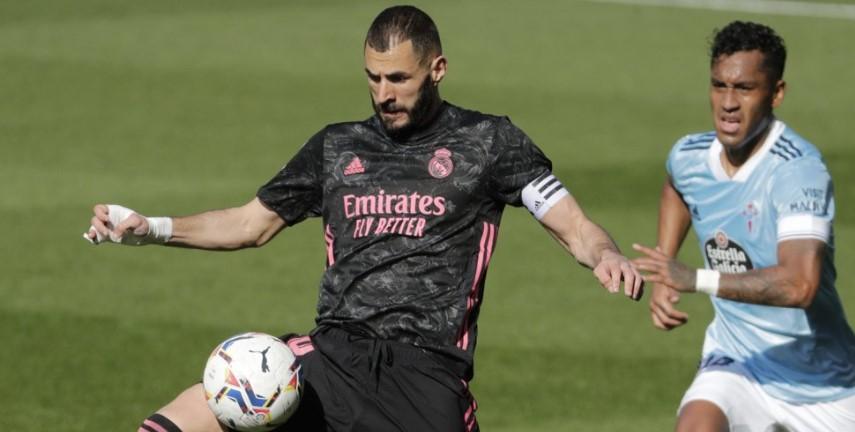 Cetak Brace Kontra Celta Vigo, Benzema Antar Madrid Geser Posisi Barcelona