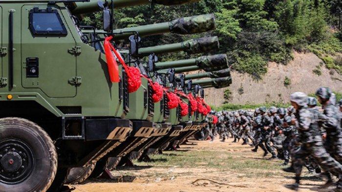 China Gelar Latihan Militer di dataran Tinggi Tibet secara Besar-besaran