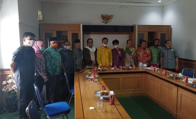 DPRD Sulbar & Pinrang Sharing Informasi Terkait  Pertanggungjawaban APBD 2019