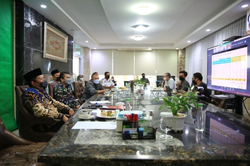 Dalam Rakor PPKM Se Indonesia Mendagri Tito Puji Pemkot Makassar Terbaik Tracing Kesehatan Warganya