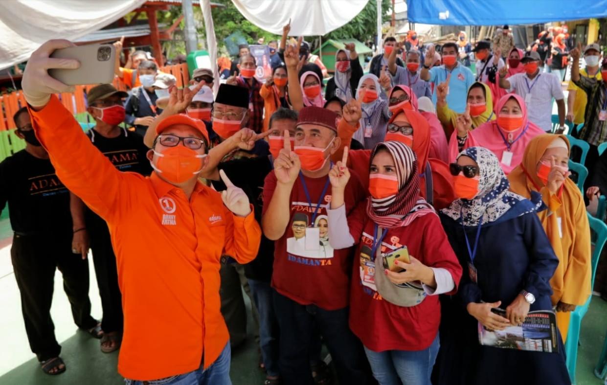 Danny Pomanto Kampanye di Manggala, Warga : Kita Bersatu Dukung