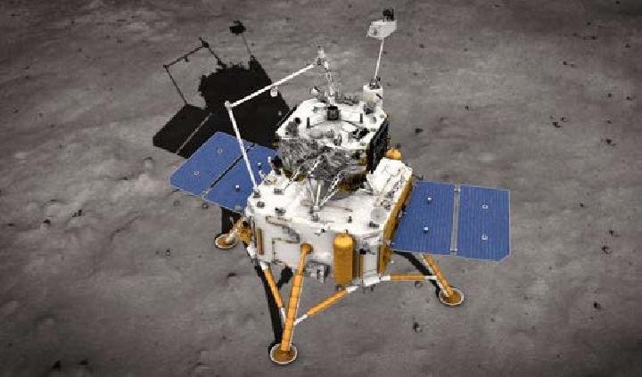 Daratkan Pesawat Tanpa Awak di Bulan, Tiongkok Ambil Sampel 2 Kg