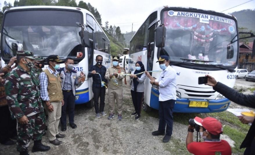Dari Masamba ke Rongkong Kini Bisa Naik Bus Damri, Waktu Tempuh Hanya Tiga Jam