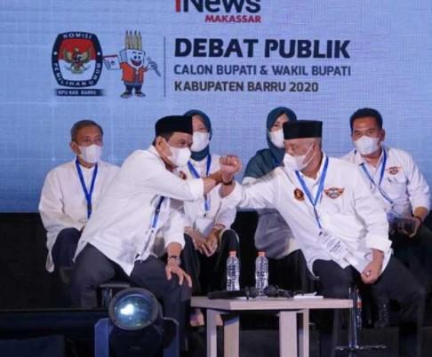 Debat Kandidat Bupati Barru, Petahana tampil Memukau