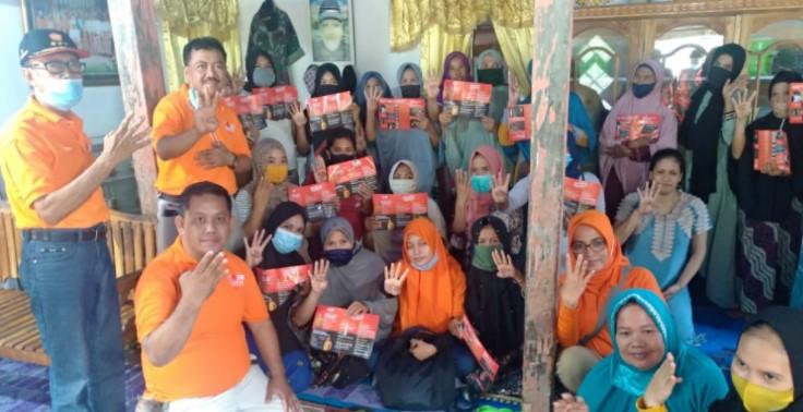 Demi Sukseskan Pemilu, Anir-Lutfi Ajak Pemilih Gunakan Hak Pilih