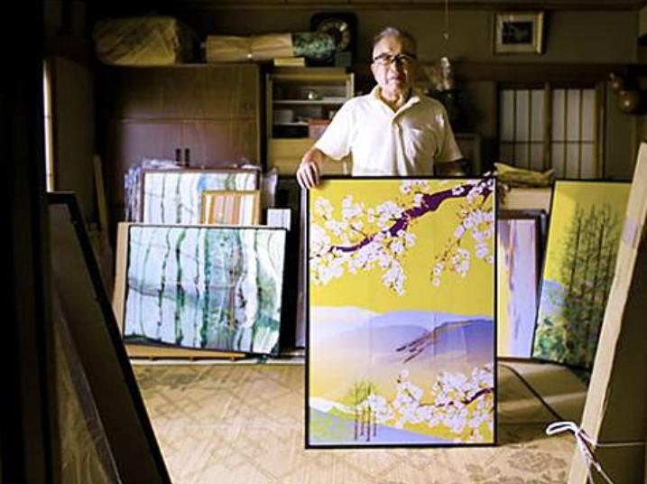 Dengan Microsoft Excel, Pria 80 Tahun di Jepang Hasilkan Karya Seni yang Menakjubkan