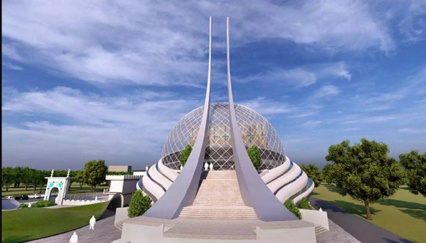 Desain Masjid Ayodhya Baru di India Bergaya Modern Menyerupai Bumi