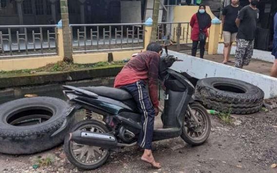 Diduga Asma, Pria Ini Meninggal di Atas Motor