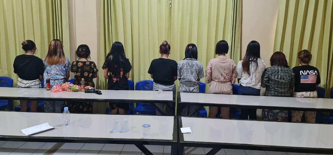 Diduga Dijajakan  Ke WNA China di Kendari, 11  Gadis Di bawah Umur  Terlibat Prostitusi  Online