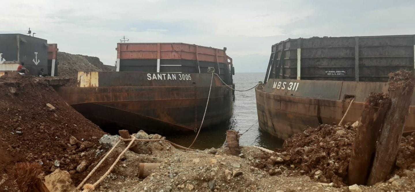 Diduga Terjadi Kegiatan Pengangkutan Ore Nikel Ilegal, Polisi Selidiki PT Kasmar